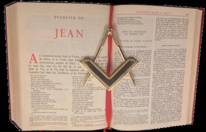 Volume de la Sainte Loi VLS Prologue de Jean REAA Étoile Écossaise